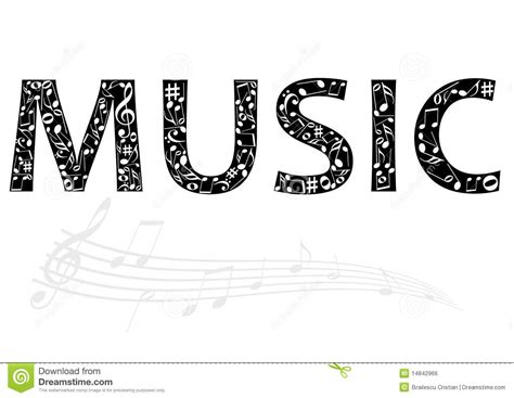 songs with the word abstract illustration of the word with royalty