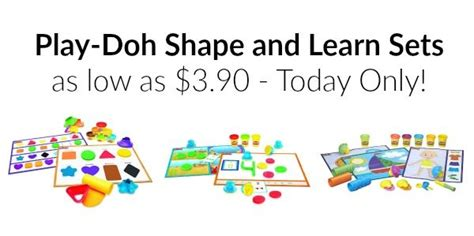 Play Doh Shape N Learn Textures Tools Play Doh Murah play doh shape and learn sets as low as 3 90 today only become a coupon