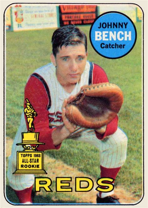 johnny bench baseball 1000 images about baseball cards on pinterest
