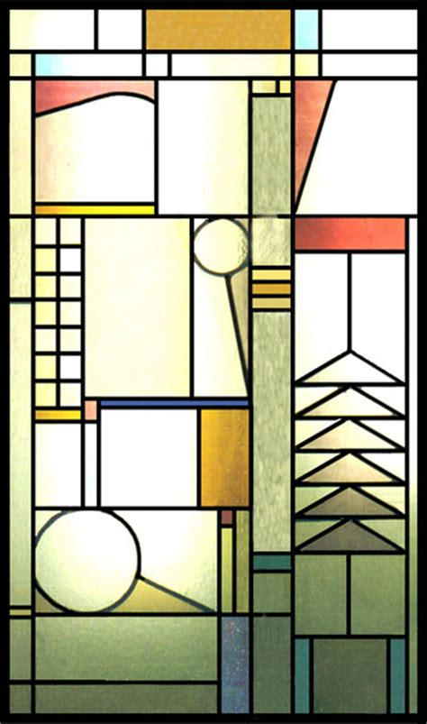frank lloyd wright stained glass free coloring pages