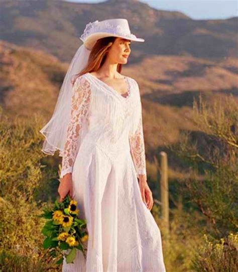 unique wedding ideas western wedding dresses create a
