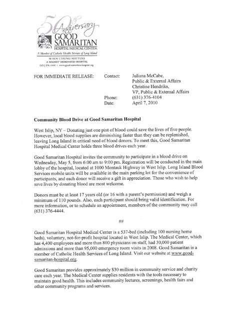 Press Release On Newsletter press release newsletter and sell sheet copy