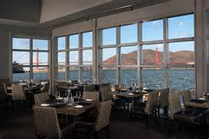 san francisco waterfront seafood restaurant dining with