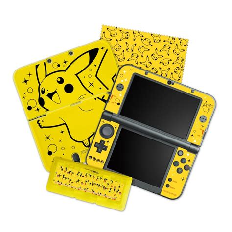 New 3ds Xl Hori Pikachu Pouch look at the pikachu pack starter kit for new nintendo 3ds xl idealist