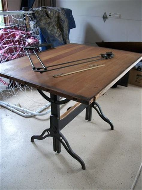 steunk end table vintage hamilton drafting table vintage hamilton