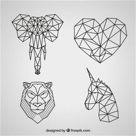 imagenes animales geometricos vectores de animales 9 900 en formato ai y eps