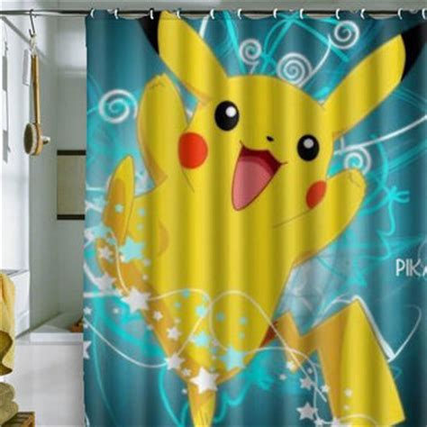 Pikachu Shower by Pikachu Shower Curtain By From Holidayshowercurtain On