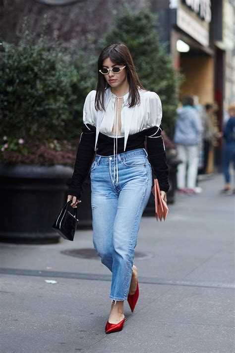 celebrity style fashion news fashion trends and beauty tips street style looks from new york fashion week spring 2018