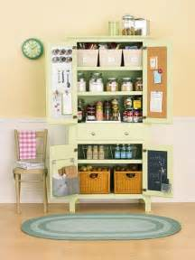 Small Kitchen No Pantry - bhg centsational style