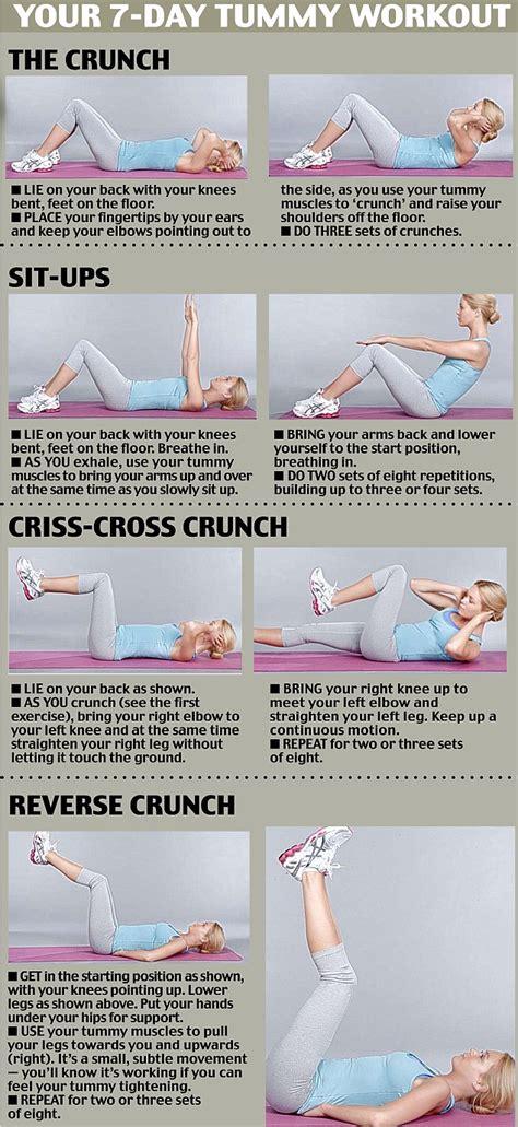 flat tummy workout on flat stomach workouts