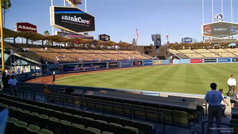 section 43 b dodger stadium section 43 rateyourseats com