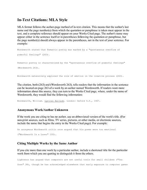 film mla citation format essay quoting film