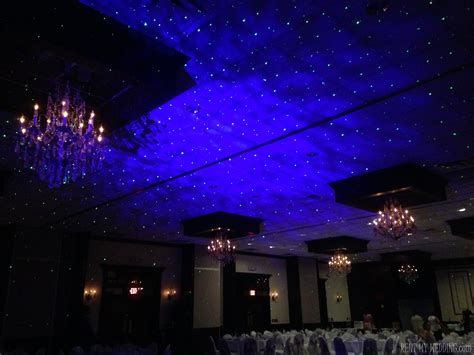 wedding trend starry night lighting bridalpulse