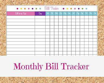 7 best images of printable monthly money management