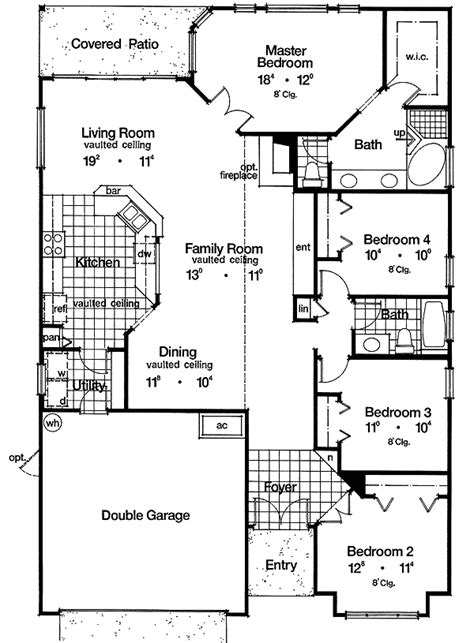 Marvelous Large Home Plans 12 Big House Floor Plans Big House Plans