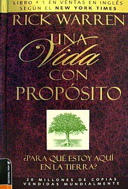 libro una vida con proposito una vida con proposito rick warren libro pdf