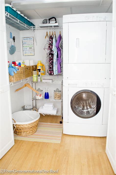 diy small laundry room makeover diy basement laundry room makeover before after four generations one roof