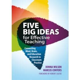 big ideas  effective teaching connecting mind