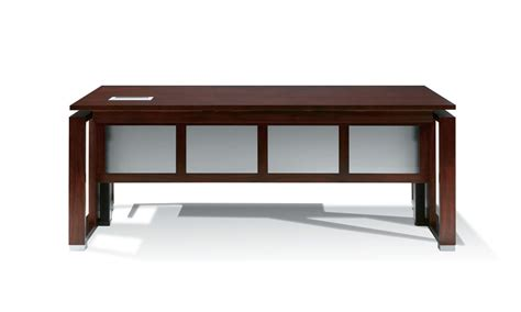 standing desk modesty panel standing height executive wood desk with wood framed