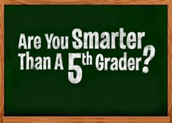Are You Smarter Than A 5th Grader Powerpoint Template by Are You Smarter Than A 5th Grader Powerpoint Template