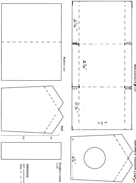 woodwork bird house design software  plans