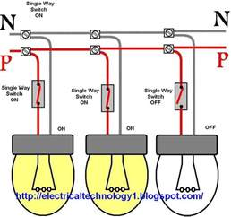 lights series circuit wiring a light switch each l by separately switch