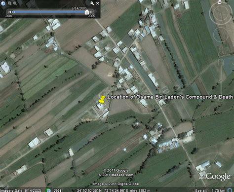bin laden abbottabad google earth where on google earth was osama bin laden screenshots