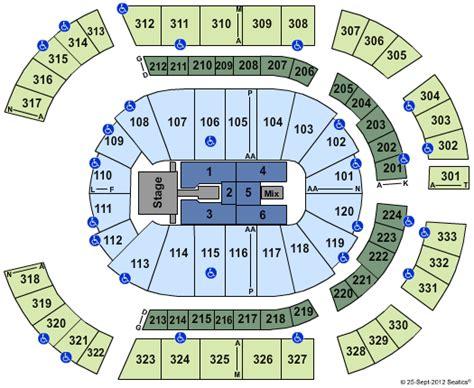 bridgestone arena seating chart concerts aerosmith bridgestone arena tickets aerosmith december