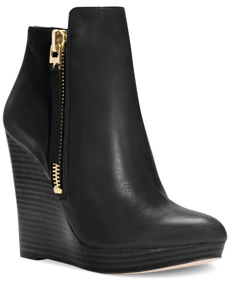Muchael Kors B698 7 Wedges Shoes michael kors wedge boots black buy michael kors shoes