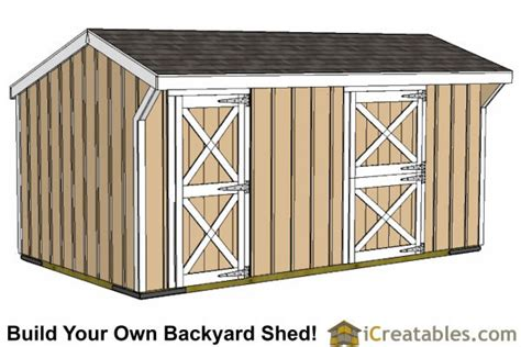 Tack Shed Plans by Sharty Free Run In Shed Blueprints