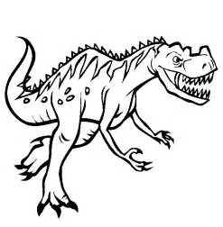 dinosaur color pages free printable dinosaur coloring pages for