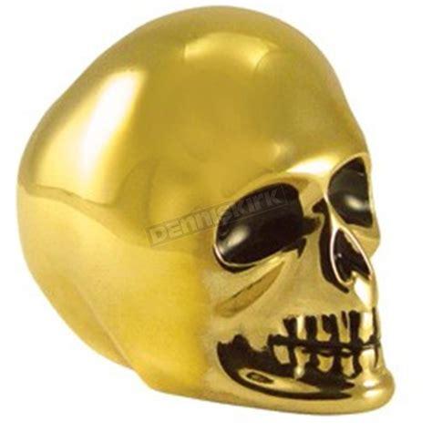Brass Shift Knob by V Factor Brass Skull Shift Knob 44159 Harley Davidson