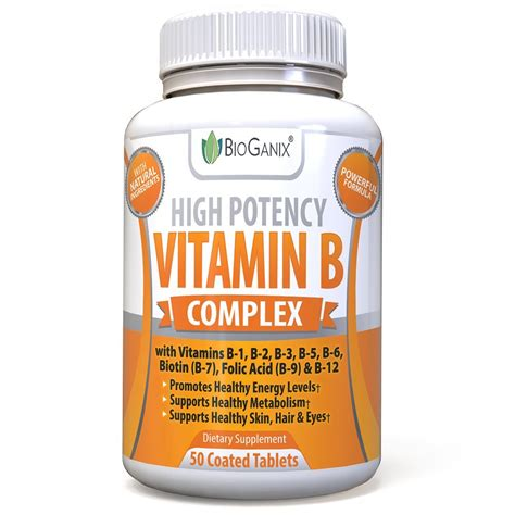 b complex supplement 2 high potency vitamin b complex 100 supplement