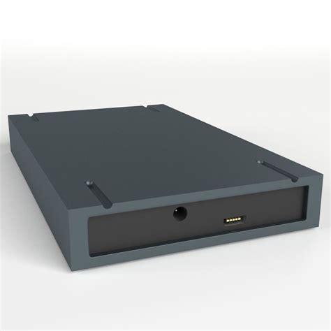 Hardisk 3d Usb External Disk 3d Model