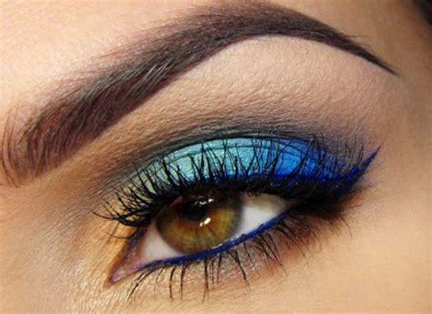Eyeliner Wardah Warna Biru cara cara trendi untuk mengenakan eyeshadow warna biru facetofeet