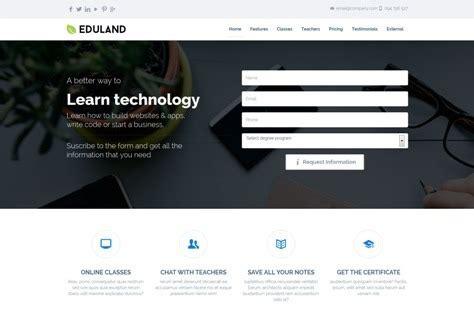 50 Responsive Landing Page Templates Webprecis Career Page Template