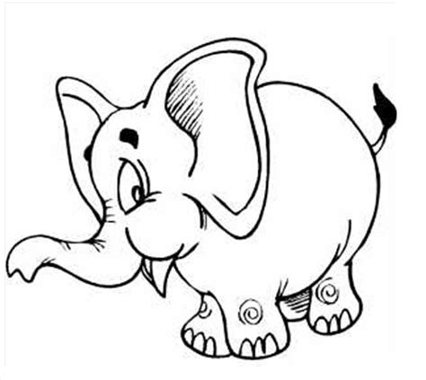 preschool coloring pages elephant printable pictures of elephants