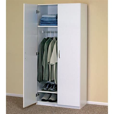 clothes storage cabinets with doors white wardrobe cabinet clothing closet storage modern