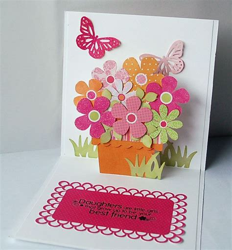 pop out flower card template 14 best images about card ideas on template