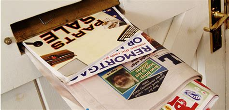 Recycled Labels To Combat Junk Mail by How To Stop Junk Mail