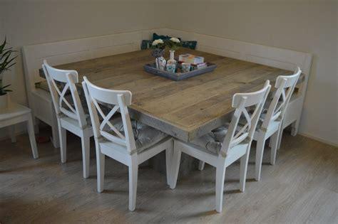 eethoek brocante excellent vierkante tafel with brocante eethoek