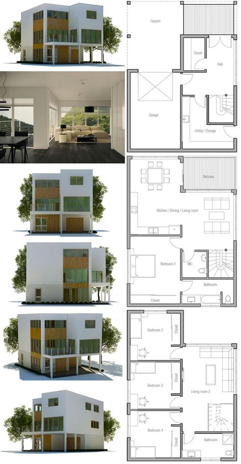 modern architecture floor plans 25 best modern home plans ideas on modern