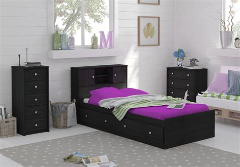 kmart bedroom sets essential home 4 drawer dresser ebony smart bedroom