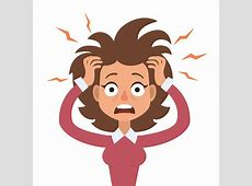 Top 60 Frustrated Woman Clip Art, Vector Graphics and ... Clipart Stressed