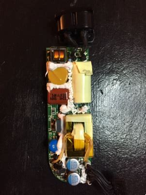 power supply white glue  circuit board electrical