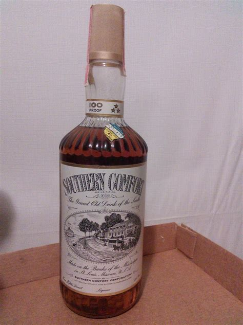 Southern Comfort 80 Proof by Southern Comfort Liqueur 4 5 Quart 100 Proof Sealed