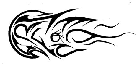 comet tattoo comet tribal by reijy on deviantart