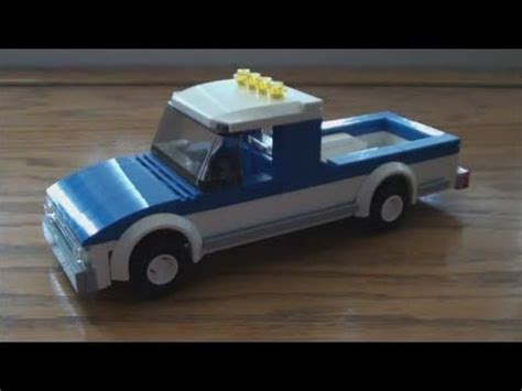 tutorial lego truck tutorial basic lego pickup truck cc lego tutorials