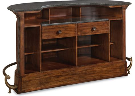 Thomasville Bar Cabinet Thomasville Hemingway Bar Back Traditional Wine And Bar Cabinets Houston By