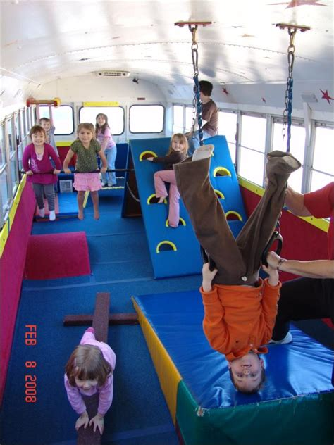 Gymnastics Lessons For Kids Go On The Road With Tumblebus